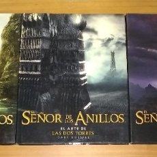 Libros antiguos: TRILOGIA EL ARTE DE EL SEÑOR DE LOS ANILLOS LA COMUNIDAD DEL ANILLO LAS DOS TORRES RETORNO DEL REY. Lote 172155519