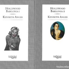 Libros antiguos: HOLLYWOOD BABILONIA.1-2. KENNETH ANGER. Lote 172362285
