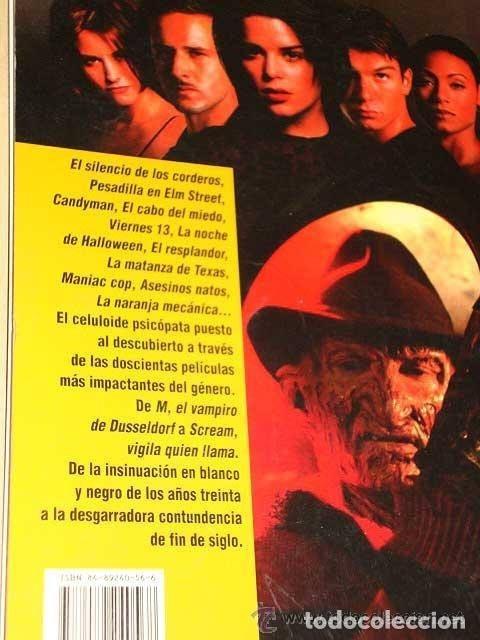 Libros antiguos: ASESINOS DE CINE: VIDEOGUIA DE PSYCHOKILLERS de Francisco Plaza Trinidad en tapa blanda con 128 pags - Foto 2 - 177828363