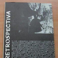 Libros antiguos: LIBRO RETROSPECTIVA 5º CERTAMEN INTERNACIONAL CINE DE HUMOR LA CORUÑA 1977 RARO. Lote 177830204