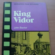 Libros antiguos: LIBRO KING VIDOR DE JOHN BAXTER 1976 MONARCH PRESS USA EN INGLÉS. Lote 177833022
