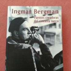 Libros antiguos: INGMAR BERMAN - FUENTES CREADORAS DEL CINEASTA SUECO - FRANCISCO JAVIER ZUBIAUR - LETRAS DE CINE. Lote 195191287