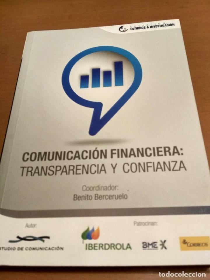 COMUNICACIÓN FINANCIERA :TRANSPARENCIA Y CONFIANZA (Libros Antiguos, Raros y Curiosos - Bellas artes, ocio y coleccion - Cine)