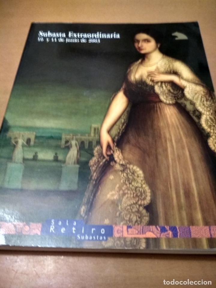 CATÁLOGO SALA RETIRO SUBASTAS (Libros Antiguos, Raros y Curiosos - Bellas artes, ocio y coleccion - Cine)