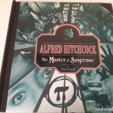 Libros antiguos: LIBRO POP UP BOOK ALFRED HITCHCOCK EL MAESTRO DEL SUSPENSE. Lote 181015301