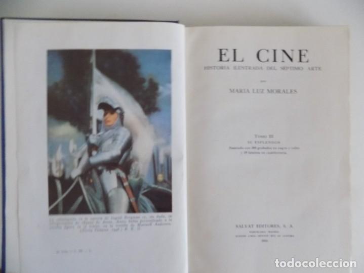 Libros antiguos: LIBRERIA GHOTICA. EL CINE.HISTORIA ILUSTRADA DEL SÉPTIMO ARTE.TOMO III.SU ESPLENDOR.1950.ILUSTRADO - Foto 3 - 181097597