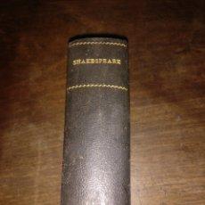 Libros antiguos: A VUESTRO GUSTO , PRIMERA EDICION 1929 W. SHAKESPEARE ESPASA CALPE. Lote 181100781