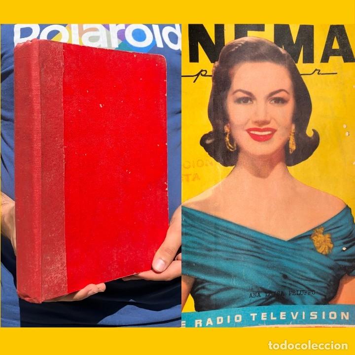 1956 TOMO REVISTA CINEMA REPORTER - MÉXICO - CINE - TV - CARMEN SEVILLA - LOLA FLORES (Libros Antiguos, Raros y Curiosos - Bellas artes, ocio y coleccion - Cine)