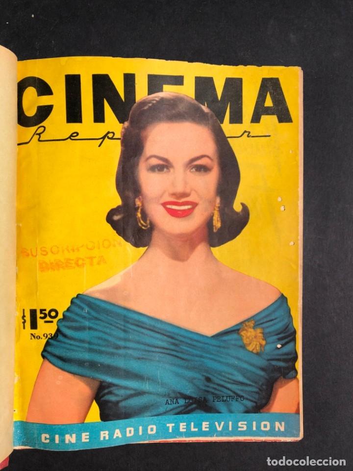 Libros antiguos: 1956 Tomo Revista Cinema Reporter - México - CINE - TV - CARMEN SEVILLA - LOLA FLORES - Foto 2 - 182586147