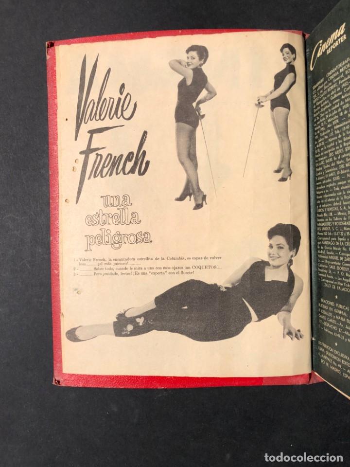 Libros antiguos: 1956 Tomo Revista Cinema Reporter - México - CINE - TV - CARMEN SEVILLA - LOLA FLORES - Foto 3 - 182586147