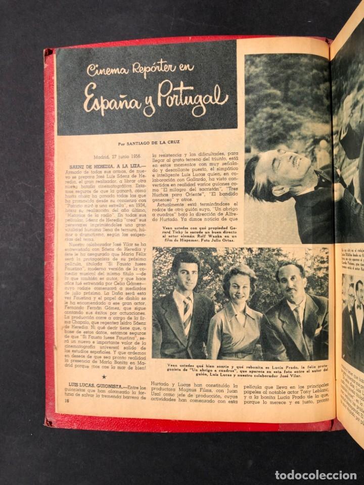 Libros antiguos: 1956 Tomo Revista Cinema Reporter - México - CINE - TV - CARMEN SEVILLA - LOLA FLORES - Foto 5 - 182586147