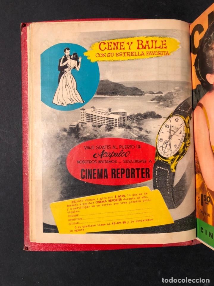 Libros antiguos: 1956 Tomo Revista Cinema Reporter - México - CINE - TV - CARMEN SEVILLA - LOLA FLORES - Foto 7 - 182586147