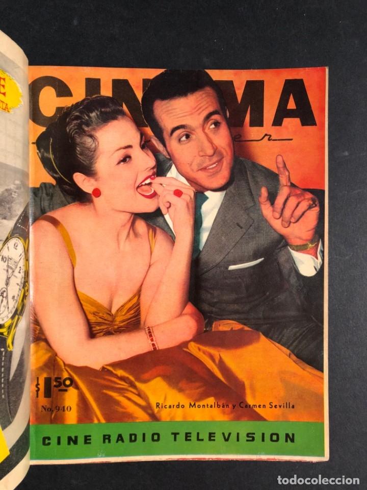 Libros antiguos: 1956 Tomo Revista Cinema Reporter - México - CINE - TV - CARMEN SEVILLA - LOLA FLORES - Foto 8 - 182586147