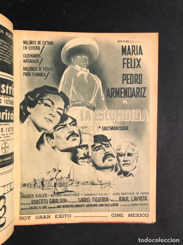 Libros antiguos: 1956 Tomo Revista Cinema Reporter - México - CINE - TV - CARMEN SEVILLA - LOLA FLORES - Foto 9 - 182586147