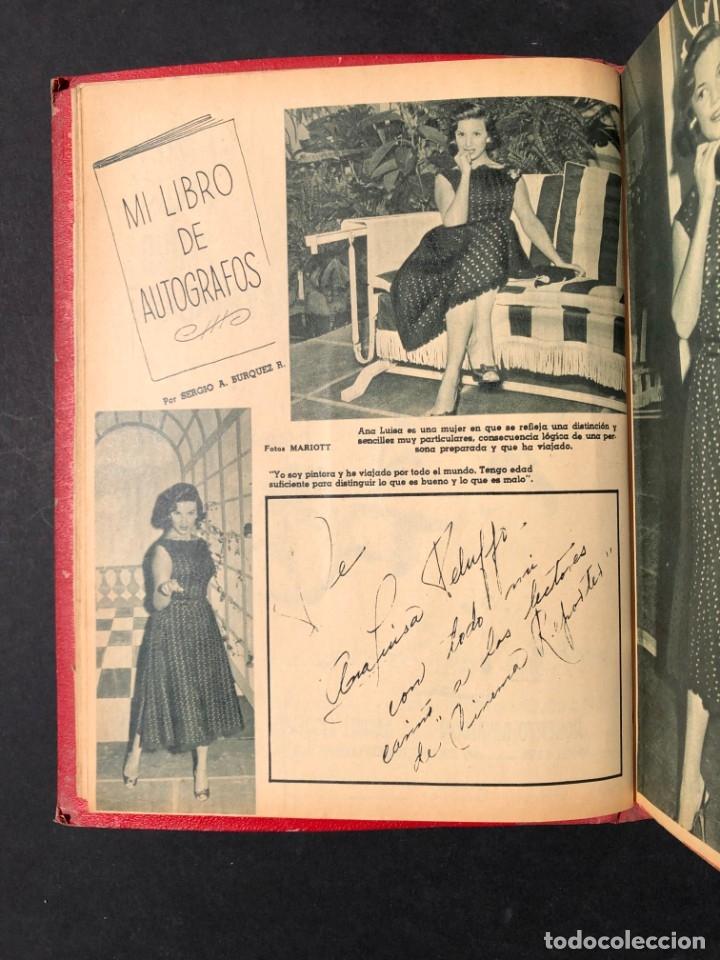 Libros antiguos: 1956 Tomo Revista Cinema Reporter - México - CINE - TV - CARMEN SEVILLA - LOLA FLORES - Foto 10 - 182586147
