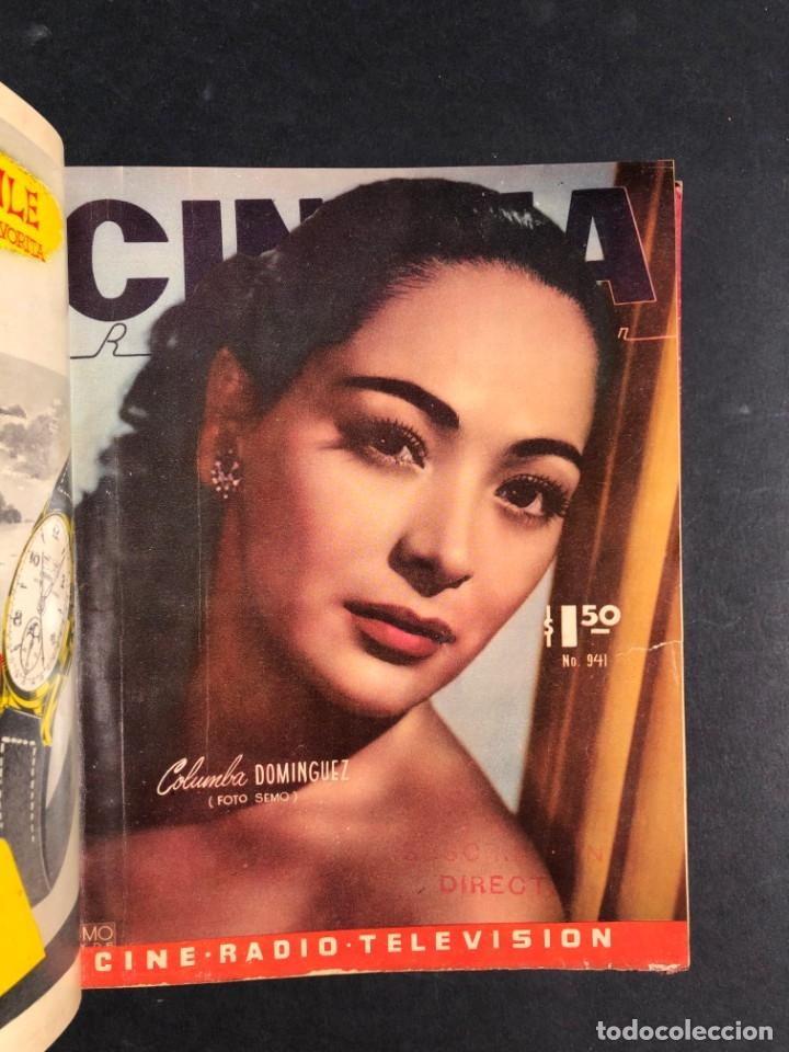 Libros antiguos: 1956 Tomo Revista Cinema Reporter - México - CINE - TV - CARMEN SEVILLA - LOLA FLORES - Foto 11 - 182586147