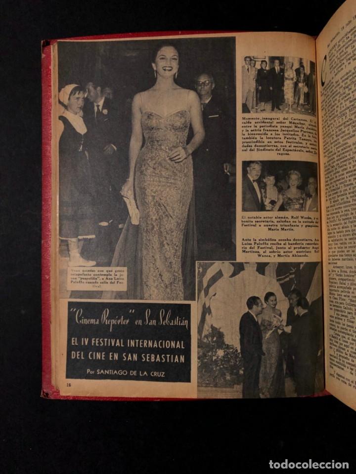 Libros antiguos: 1956 Tomo Revista Cinema Reporter - México - CINE - TV - CARMEN SEVILLA - LOLA FLORES - Foto 12 - 182586147