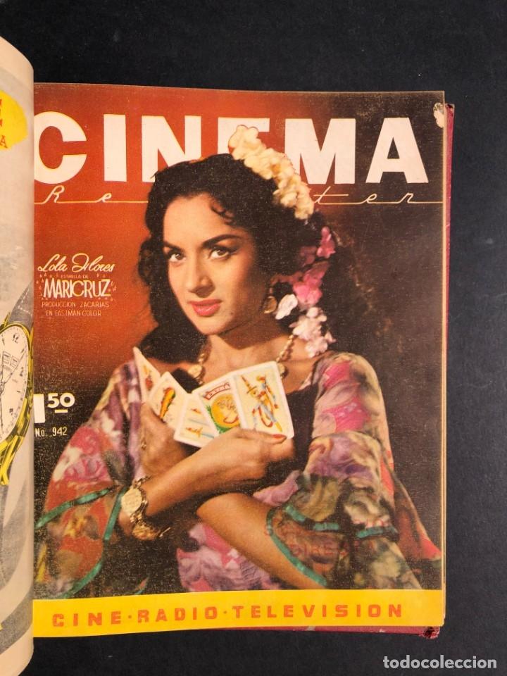 Libros antiguos: 1956 Tomo Revista Cinema Reporter - México - CINE - TV - CARMEN SEVILLA - LOLA FLORES - Foto 13 - 182586147