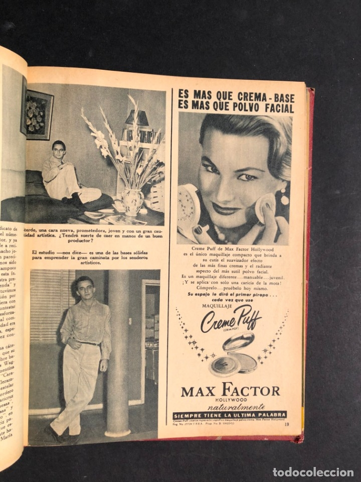 Libros antiguos: 1956 Tomo Revista Cinema Reporter - México - CINE - TV - CARMEN SEVILLA - LOLA FLORES - Foto 14 - 182586147