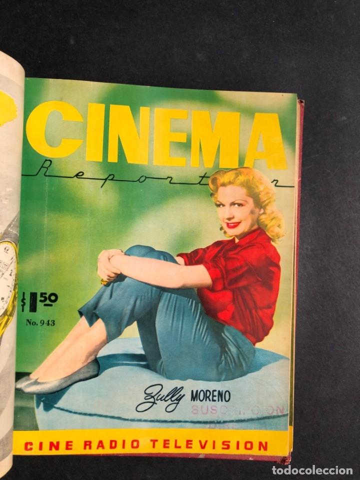 Libros antiguos: 1956 Tomo Revista Cinema Reporter - México - CINE - TV - CARMEN SEVILLA - LOLA FLORES - Foto 15 - 182586147