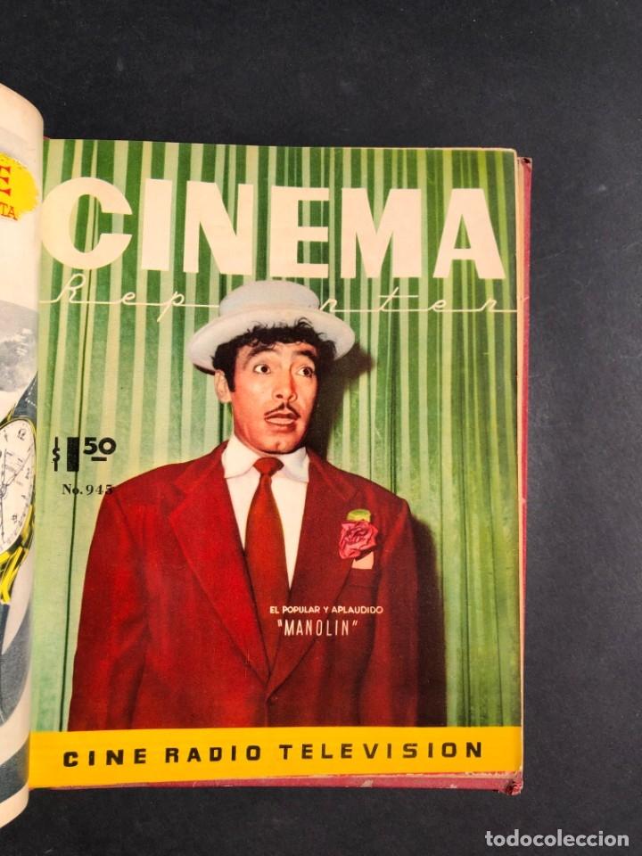Libros antiguos: 1956 Tomo Revista Cinema Reporter - México - CINE - TV - CARMEN SEVILLA - LOLA FLORES - Foto 17 - 182586147