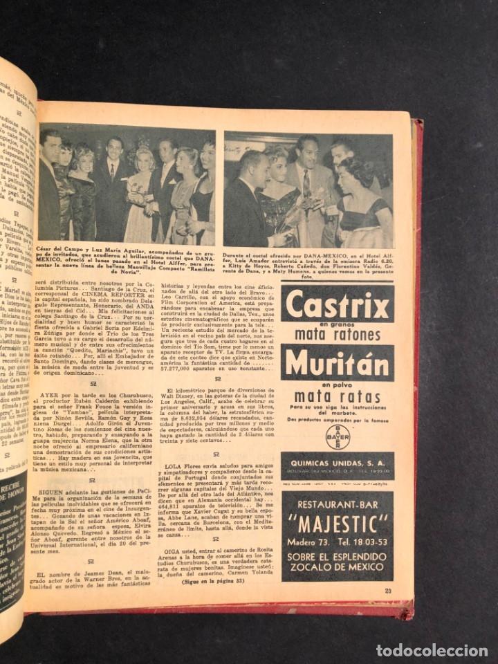 Libros antiguos: 1956 Tomo Revista Cinema Reporter - México - CINE - TV - CARMEN SEVILLA - LOLA FLORES - Foto 18 - 182586147