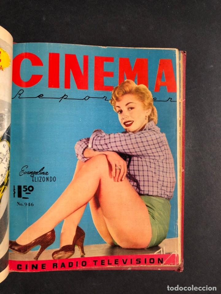 Libros antiguos: 1956 Tomo Revista Cinema Reporter - México - CINE - TV - CARMEN SEVILLA - LOLA FLORES - Foto 19 - 182586147