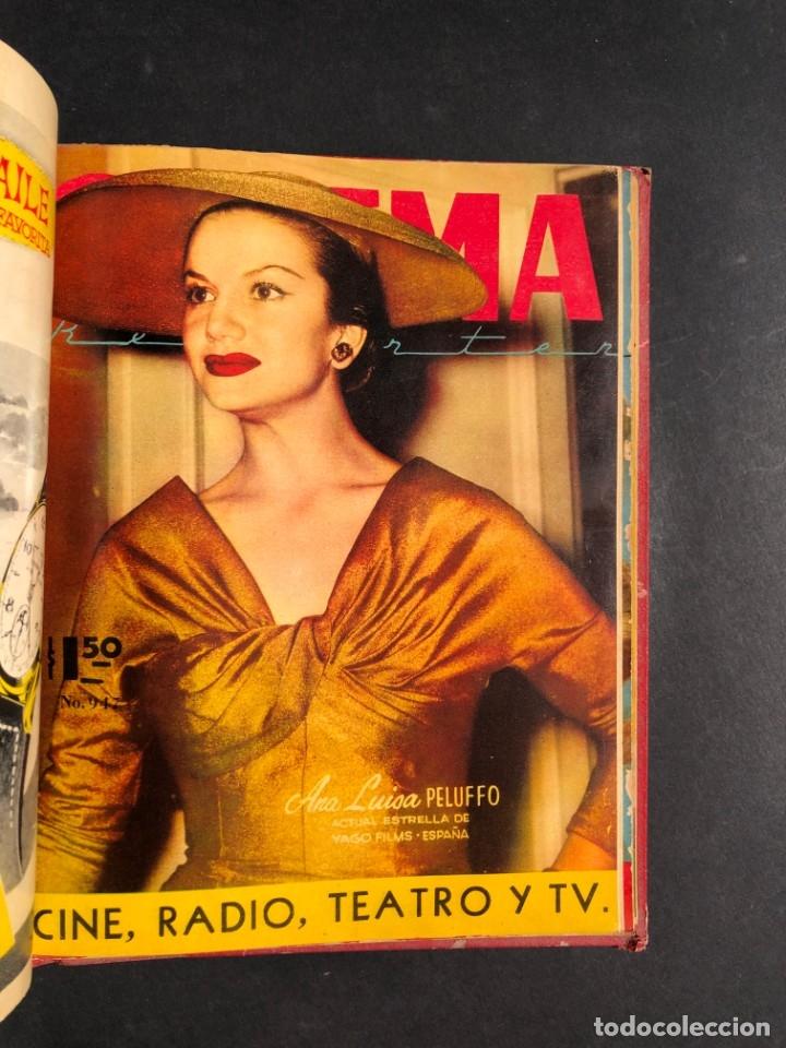 Libros antiguos: 1956 Tomo Revista Cinema Reporter - México - CINE - TV - CARMEN SEVILLA - LOLA FLORES - Foto 20 - 182586147
