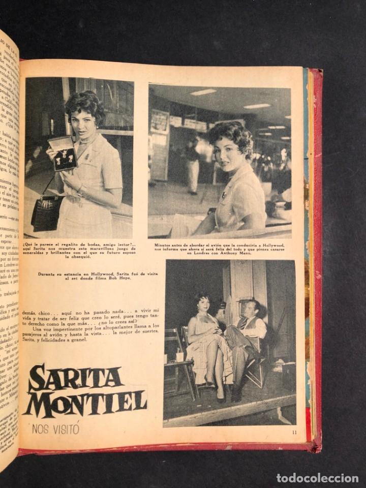Libros antiguos: 1956 Tomo Revista Cinema Reporter - México - CINE - TV - CARMEN SEVILLA - LOLA FLORES - Foto 21 - 182586147
