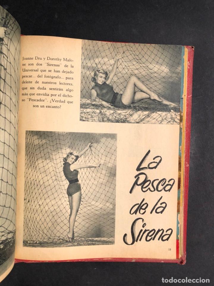 Libros antiguos: 1956 Tomo Revista Cinema Reporter - México - CINE - TV - CARMEN SEVILLA - LOLA FLORES - Foto 22 - 182586147