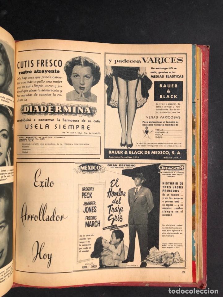 Libros antiguos: 1956 Tomo Revista Cinema Reporter - México - CINE - TV - CARMEN SEVILLA - LOLA FLORES - Foto 23 - 182586147