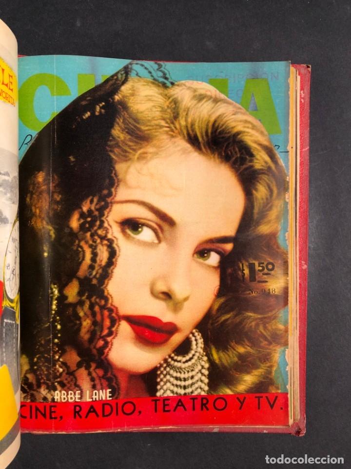 Libros antiguos: 1956 Tomo Revista Cinema Reporter - México - CINE - TV - CARMEN SEVILLA - LOLA FLORES - Foto 24 - 182586147