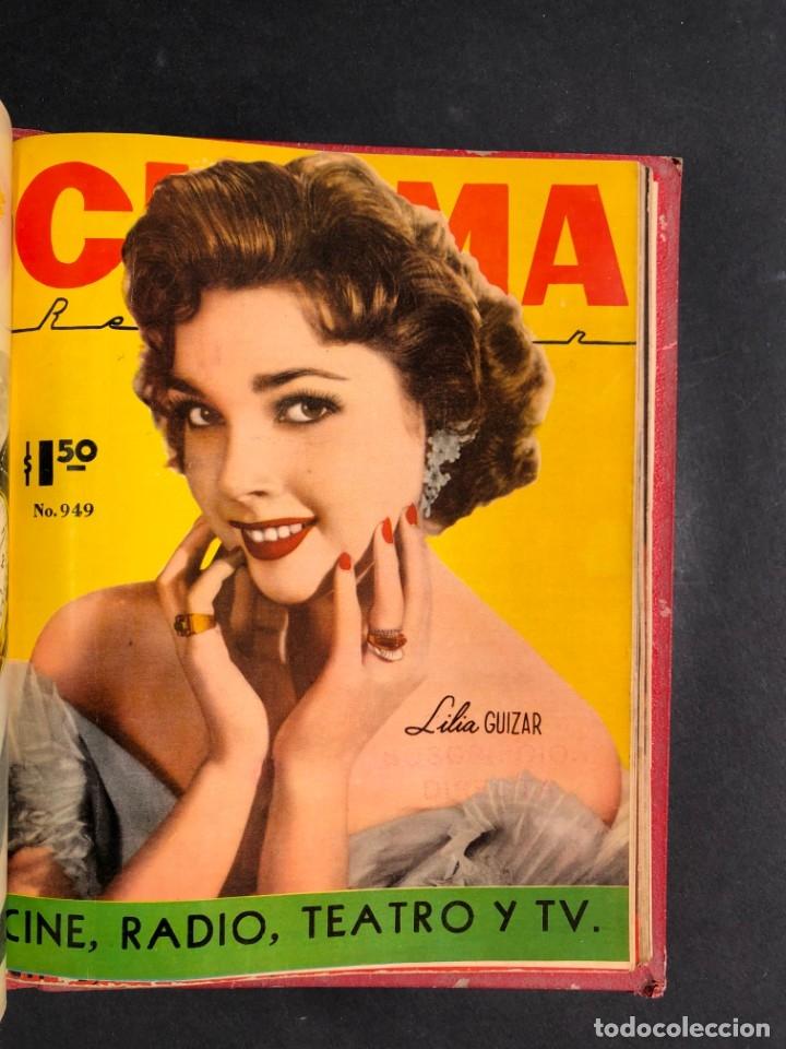 Libros antiguos: 1956 Tomo Revista Cinema Reporter - México - CINE - TV - CARMEN SEVILLA - LOLA FLORES - Foto 25 - 182586147