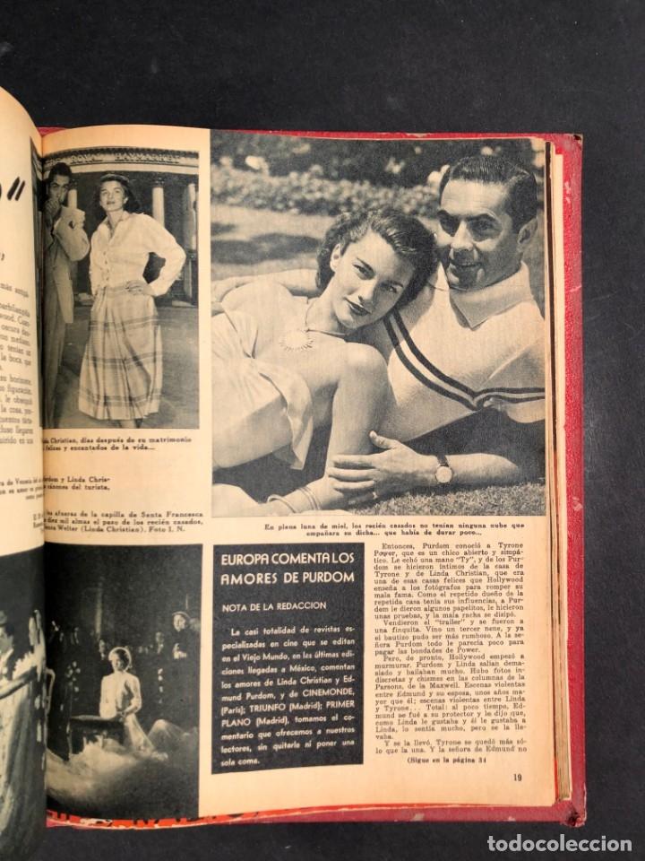 Libros antiguos: 1956 Tomo Revista Cinema Reporter - México - CINE - TV - CARMEN SEVILLA - LOLA FLORES - Foto 26 - 182586147