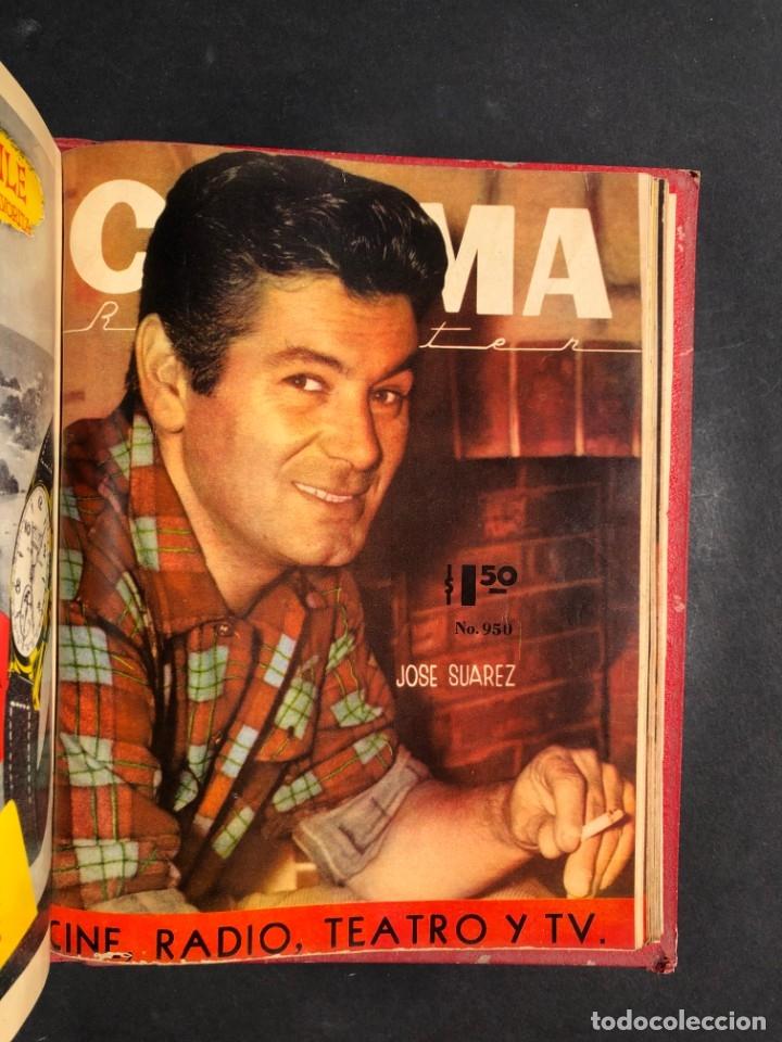 Libros antiguos: 1956 Tomo Revista Cinema Reporter - México - CINE - TV - CARMEN SEVILLA - LOLA FLORES - Foto 27 - 182586147