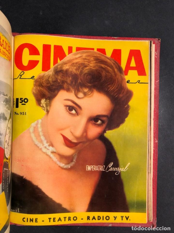 Libros antiguos: 1956 Tomo Revista Cinema Reporter - México - CINE - TV - CARMEN SEVILLA - LOLA FLORES - Foto 28 - 182586147