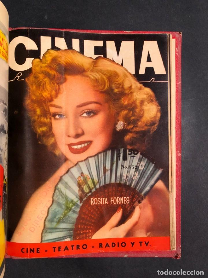 Libros antiguos: 1956 Tomo Revista Cinema Reporter - México - CINE - TV - CARMEN SEVILLA - LOLA FLORES - Foto 29 - 182586147