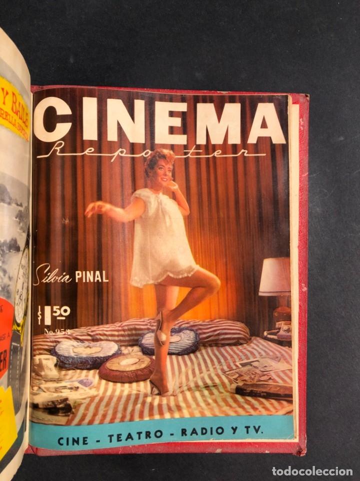 Libros antiguos: 1956 Tomo Revista Cinema Reporter - México - CINE - TV - CARMEN SEVILLA - LOLA FLORES - Foto 30 - 182586147