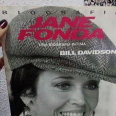 Libros antiguos: JANE FONDA: BILL DAVISON. Lote 185786201