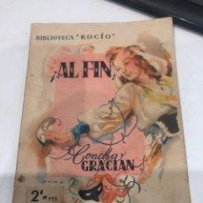 Libros antiguos: AL FIN!. Lote 188677492