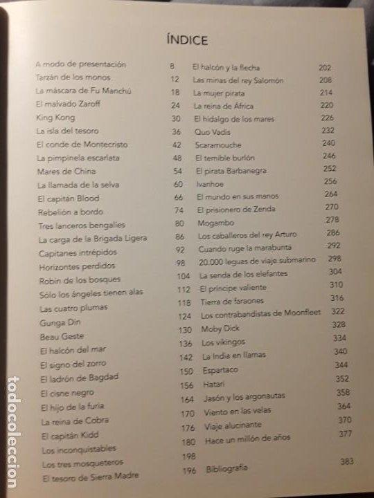 Libros antiguos: El cine de aventuras. Ramon Freixas/Joan Bassa. Tapa dura. Magnifico estado. Notorius, 2008. - Foto 3 - 189091190