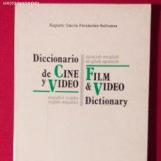 Libros antiguos: DICCIONARIO DE CINE Y VIDEO ESPAÑOL INGLES EDICIONES TAYO). Lote 190854607