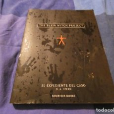 Libros antiguos: LIBRO SOBRE LA PELI BLAIR WITCH PROJECT MONDADORI RESERVOIR BOOKS 250 GRAMOS. Lote 191734122