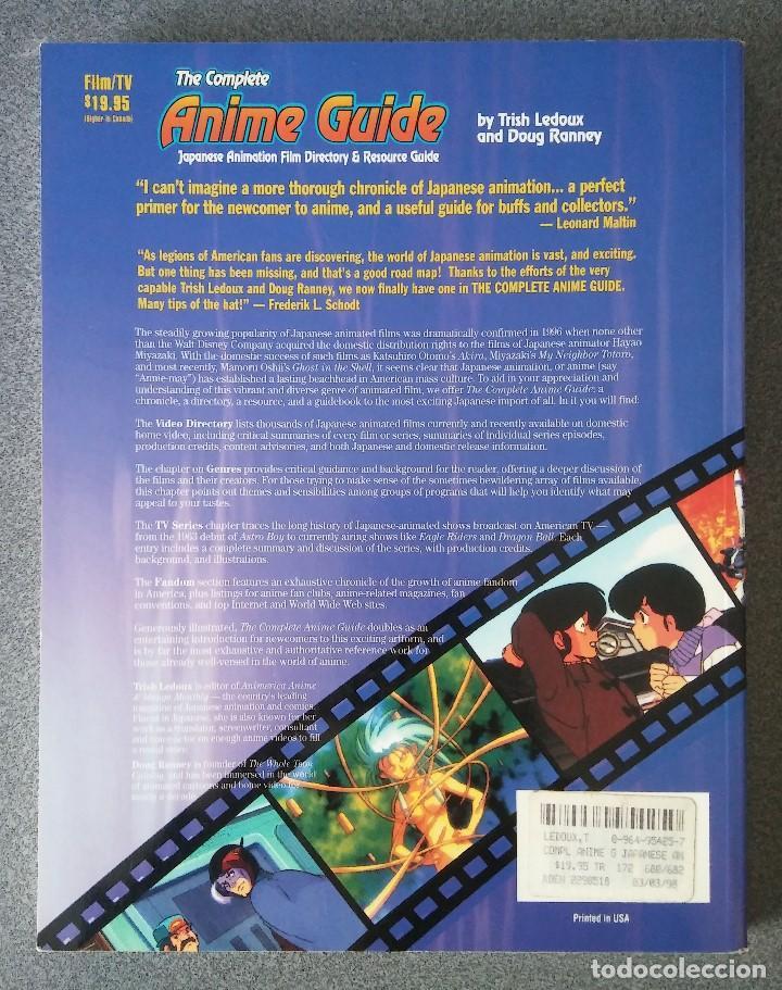 Libros antiguos: Guia Anime The Complete Anime Guide Japanese Animation Trish Ledoux Doug Ranney - Foto 2 - 193360450