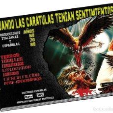 Livres anciens: CUANDO LAS CARÁTULAS TENÍAN SENTIMIENTOS. COVER BOOK. Lote 237287265