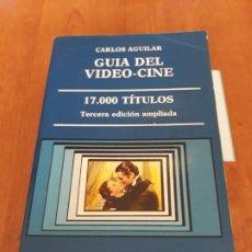 Libros antiguos: GUIA DEL VIDEO-CINE, 17.000 TÍTULOS. 3° EDICIÓN AMPLIADA.. Lote 194125628