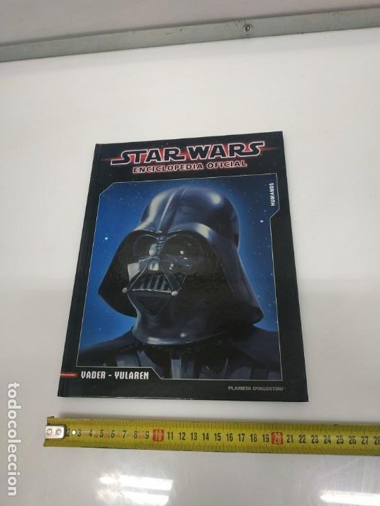 Libros antiguos: Star Wars, Enciclopedia Oficial, Humanos, Vader-Yulares. Planeta Agostini. Lucasfilm, 2013. - Foto 14 - 194931772