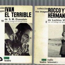 Libros antiguos: COLECCION IMAGEN N,2 ROCCO Y SUS HERMANOS Y 19 IVAN EL TERRIBLE,1 EDICION 1962. Lote 195250655