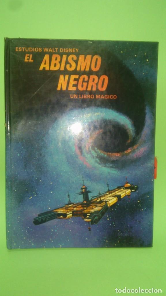 EL ABISMO NEGRO UN LIBRO MAGICO .LIBRO EN 3 DIMENSIONES (Libros Antiguos, Raros y Curiosos - Bellas artes, ocio y coleccion - Cine)