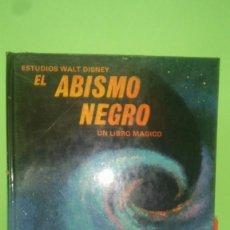 Libros antiguos: EL ABISMO NEGRO UN LIBRO MAGICO .LIBRO EN 3 DIMENSIONES. Lote 195327550